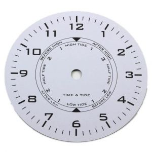 6 white metal time tide dial 2